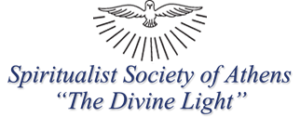 "The Spiritualist Society of Athens ""The Divine Light"" Logo"